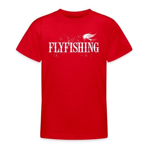 Flyfishing Fliegenfischen Köder Fliege - Teenager T-Shirt