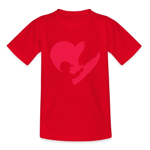 Horse Girl Cute Heart Horse Ride Gift for Horse - Camiseta adolescente