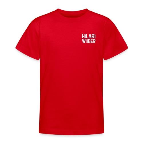 Hilari Wiiber - Classy - Teenager T-Shirt
