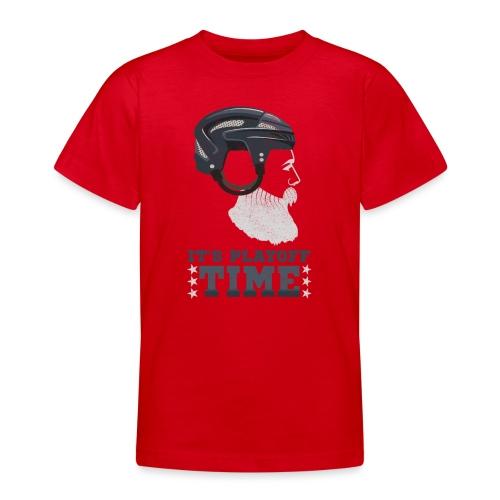 Lustiges Cooles Eishockey Geschenk Eishockeyspiele - Teenager T-Shirt