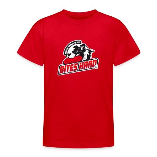 Disc Dog Bug Bites Hard - Teenage T-Shirt