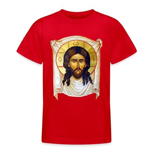 Low-Poly Jesus Icon - Teenage T-Shirt