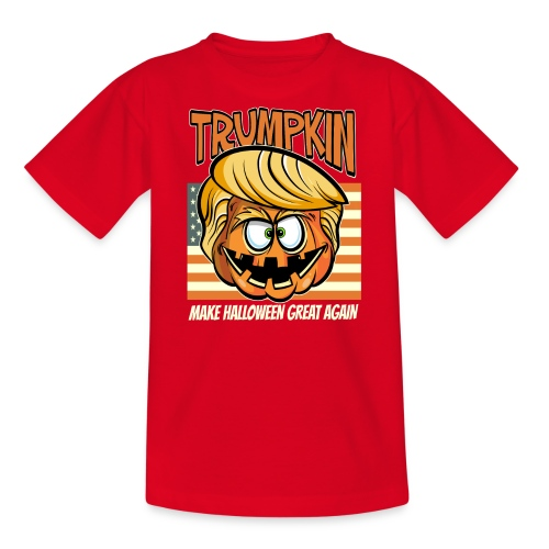 Trumpkin Donald Trump Halloween - Teenager T-Shirt
