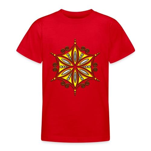 Aphrodite Amulett - Blume des Lebens - Teenager T-Shirt
