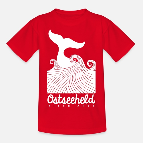 Ostseeheld - Teenager T-Shirt