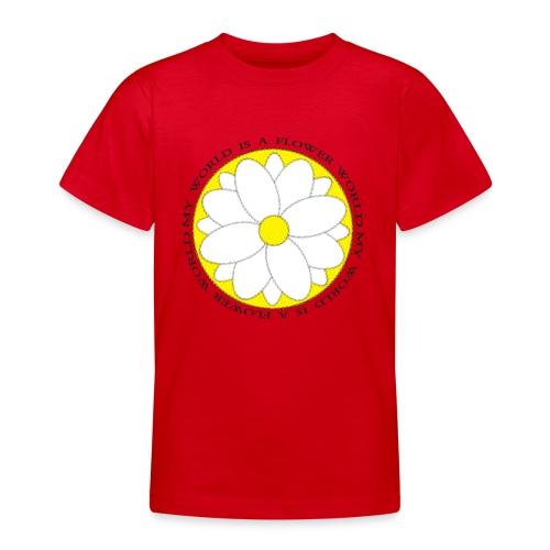 Flower World - Teenager T-Shirt