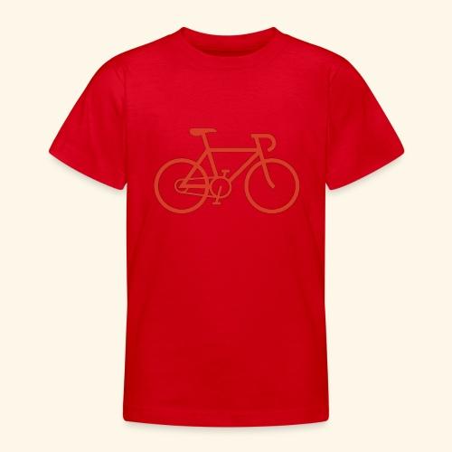 Rennrad, Race-Bike, Fahrrad - Teenager T-Shirt