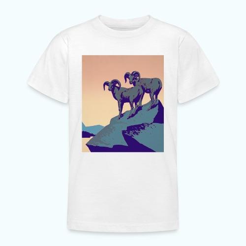 Vintage Capricorn Travel Poster - Teenage T-Shirt