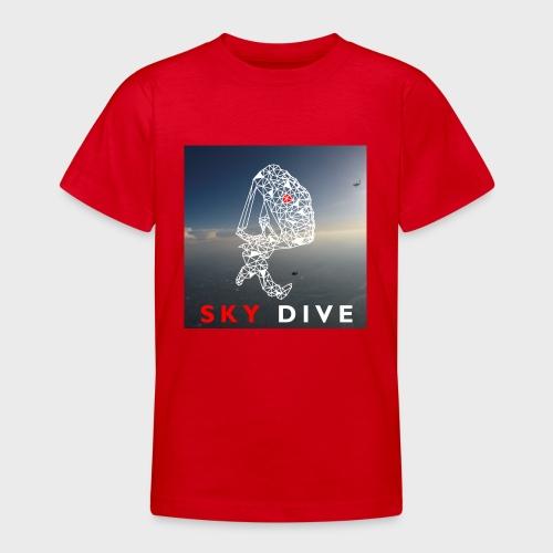 Fallschirm-Triangle - Teenager T-Shirt