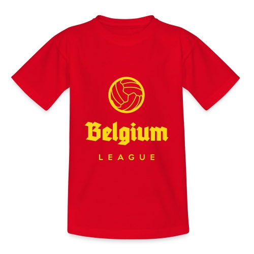 Belgium football league belgië - belgique - T-shirt Ado