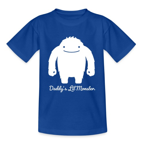 Daddys Lil Monster - Teenager T-Shirt