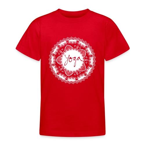 YOGA MORNING - T-skjorte for tenåringer