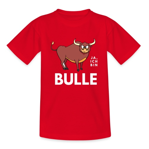 Ja, ich bin Bulle - Teenager T-Shirt