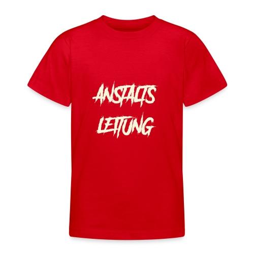 Anstaltsleitung - Teenager T-Shirt