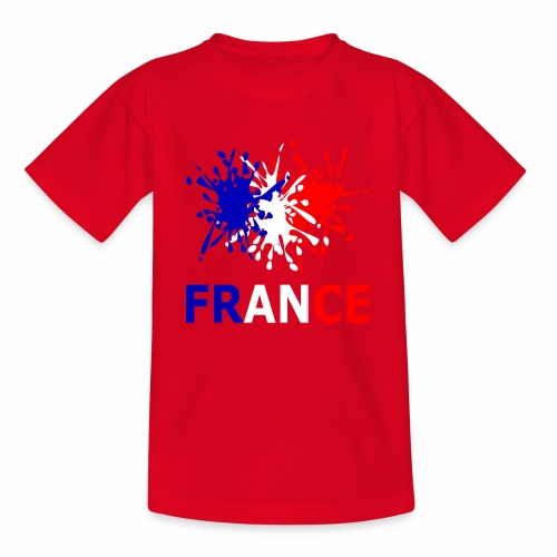 France - red white blue - Teenage T-Shirt