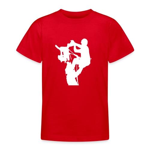 Baumpfleger Arborist - Teenager T-Shirt