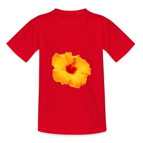 FLOR HAWAII - Camiseta adolescente