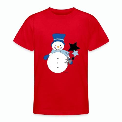 Snowtime-Blue - Teenager T-Shirt