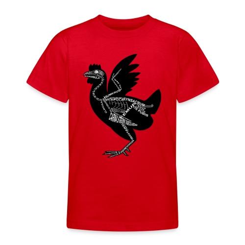 Huhn-Skelett - Camiseta adolescente