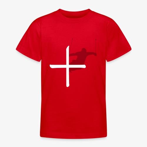 Ski Switzerland - Teenage T-Shirt