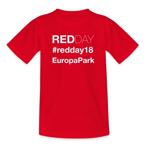 GayRedDay 2018 - Teenager T-Shirt
