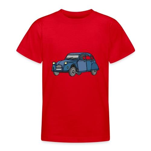 Blaue Ente 2CV - Teenager T-Shirt