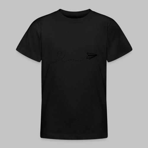 fly heart - Teenage T-Shirt