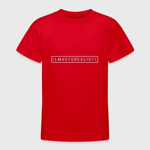 Ilmastorealisti - Nuorten t-paita