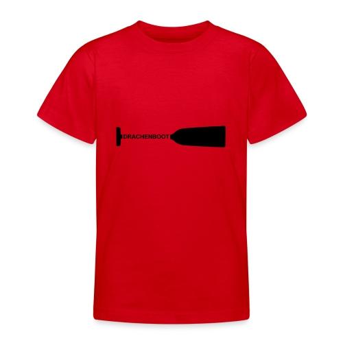 Drachenboot Paddel Drachenbootsport 1c - Teenager T-Shirt