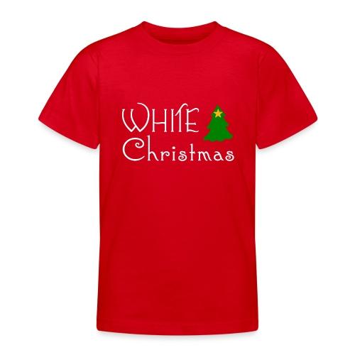 White Christmas - Teenage T-Shirt