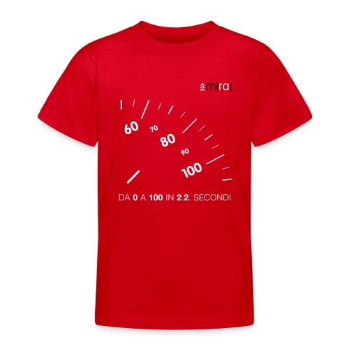 Tachometer White - Maglietta per ragazzi