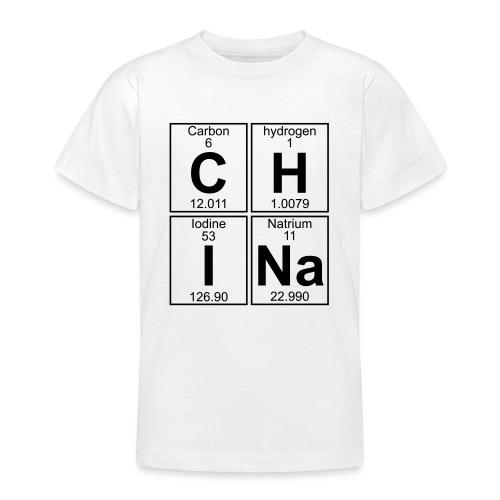 C-H-I-Na (china) - Full - Teenage T-Shirt
