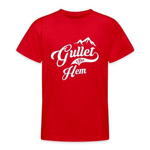 Gullet Ska Hem - T-skjorte for tenåringer