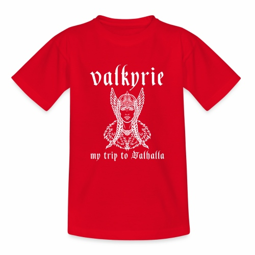 Valkyrie to Valhalla - Camiseta adolescente