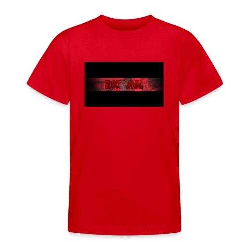 Min loga - T-shirt tonåring