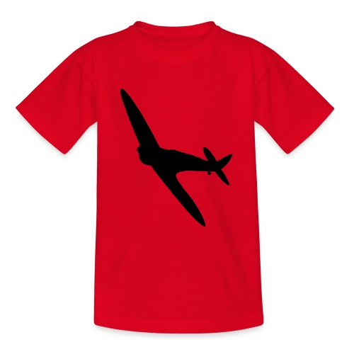 Spitfire Silhouette - Teenage T-Shirt