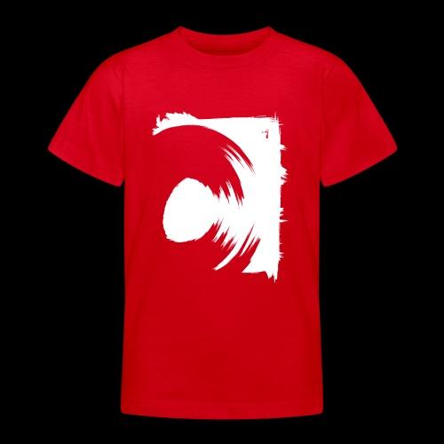 spin (white) - Teenager T-Shirt