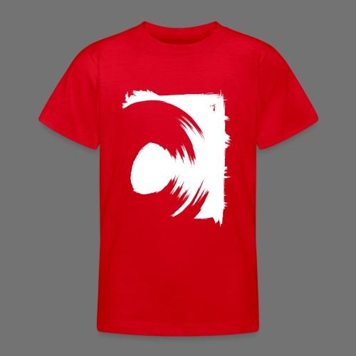 wirowania (biały) - Koszulka młodzieżowa