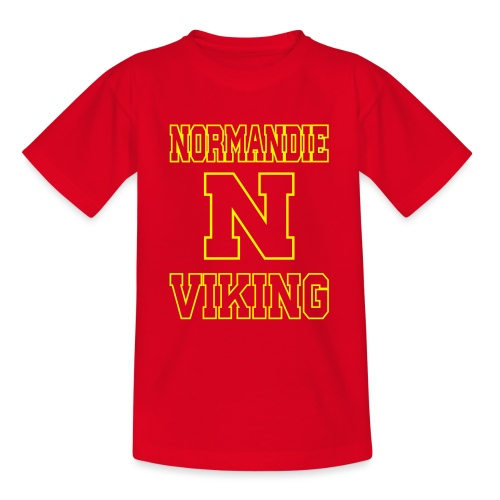 Normandie Viking Def jaune - T-shirt Ado