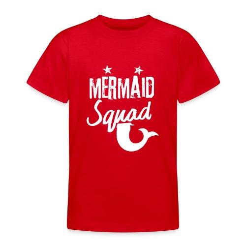 Meerjungfrau-Trupp-Kader - Teenager T-Shirt