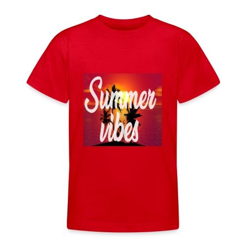 Summervibes - Teenager T-Shirt
