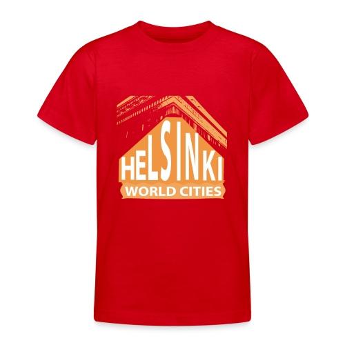 Helsinki2 orange - Teenage T-Shirt