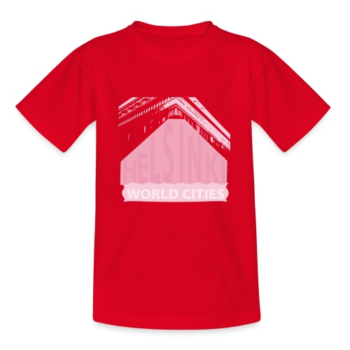Helsinki light pink - Teenage T-Shirt