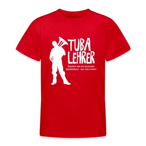 Tuba Lehrer | Tubist - Teenager T-Shirt
