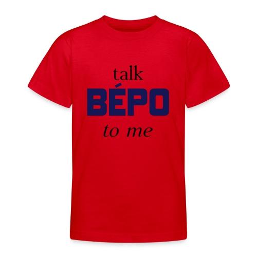 talk bépo new - T-shirt Ado
