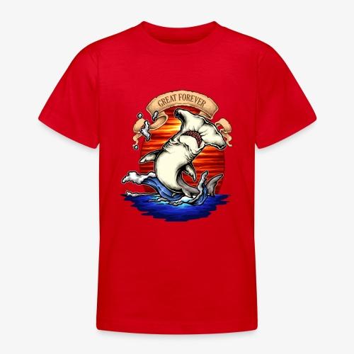 König des Ozeans - Teenager T-Shirt