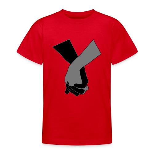 Holding Hands - Teenager T-Shirt