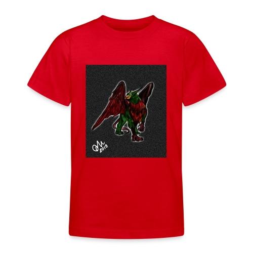 Grifone verde-rosso - Maglietta per ragazzi