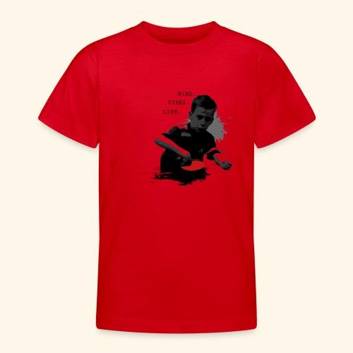 Seien Sie immer in allem Tischtennis positiv - Teenager T-Shirt