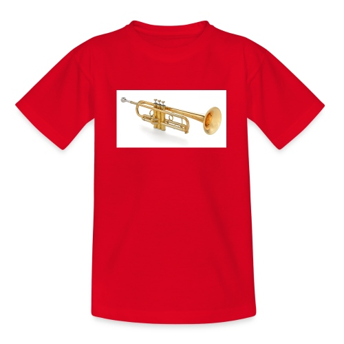 the trumpet - Teenager T-Shirt